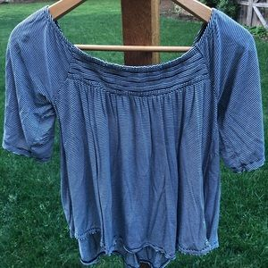 American Eagle Soft and Sexy Striped Blouse